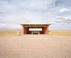 While on a solo road trip from California to Texas in 2007, Austin-based photographer Ryann Ford became enamored with the quirky designs of the rest stops along Route 66.