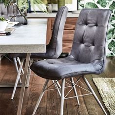 Hix - Dining Chair (Grey) | Dining Chairs | Dining Room