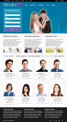 Online #Dating WordPress #Community Theme - www.wpchats.com