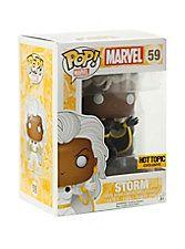 Funko Marvel Pop! Storm (Black Suit) Vinyl Figure Hot Topic Exclusive,