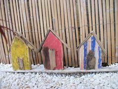 Drift Wood, Model Homes, Wood Art, My Ebay, Link, Painting, Little Cottages, Wooden Art, Painting Art