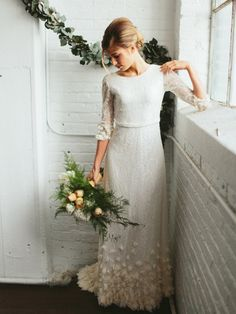 20 Wedding Dresses for a Boho Bride from Etsy | SouthBound Bride