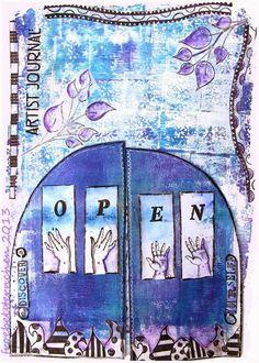 MOO MANIA , Art Journal Journey