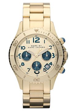 MARC BY MARC JACOBS 'Rock' Chronograph Bracelet Watch available at Nordstrom