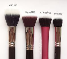 ! **❤ MakeupByJoyce ❤** !: Review + Comparison: Real Techniques Brush Collection