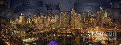 Digital Art - Sydney Australia Skyline by Rafael Salazar