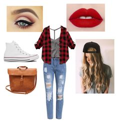 """""""Geen titel #47"""" by altinxxxx on Polyvore featuring mode, Abercrombie & Fitch, Masquerade, Roark en Converse"""