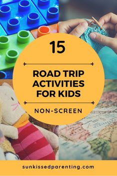 How to keep the kids happy and busy in the car on a road trip? Check out these 15 road trip activities for kids for successful car rides! Road Trip Activities, Toddler Activities, Activities For Kids, Activity Ideas, Toddler Travel, Travel With Kids, Family Travel, Road Trip With Kids, Family Road Trips