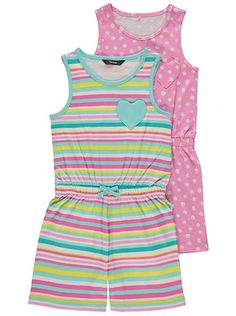 Pack Patterned Playsuits Read Reviews And Buy Online At George Shop From Our