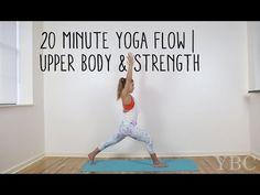 20 Minute Yoga Flow | Upper Body & Strength - YouTube