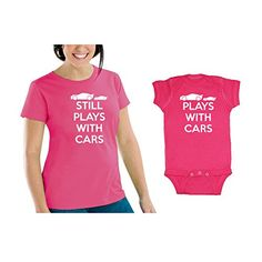 50509fd0 Amazon.com: We Match! Plays With Cars & Still Plays With Cars Matching  Women's Scoop Neck T-Shirt & Baby Bodysuit Set (12M Bodysuit, Women's Scoop  Neck ...