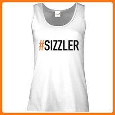 getshirts - SizzleBrothers Merchandise Shop - Tank Top Damen - SizzleBrothers - Grillen - Sizzler - weiss S