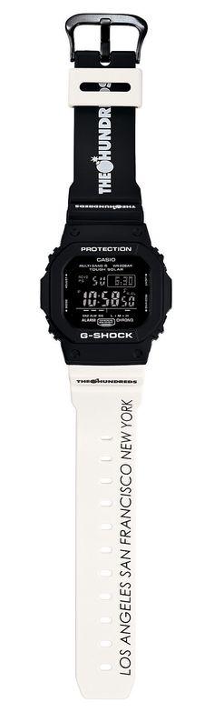 THE HUNDREDS X G-SHOCK, GWM5610TH-1: super cool.