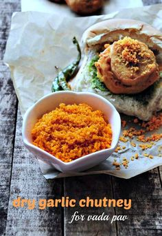 Dry Garlic Chutney Recipe - Spicy Red Garlic Chutney for Vada Pav - Edible Garden
