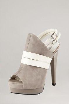 $89.00  Michael Antonio   Tanaz Platform Heel