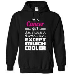 (Top Tshirt Sale) Best seller Cancer Girl [Tshirt design] T Shirts, Hoodies. Get…