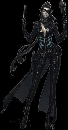 Videogame: Aion. Character: Gunner.