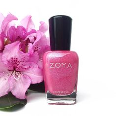 Pretty as a petal - Zoya Nail Polish in Azalea Mani Pedi, Manicure And Pedicure, Hair And Nails, My Nails, Pink Nail Colors, Zoya Nail Polish, Perfect Pink, Pedicures, Spring Nails