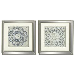 2-Piece Polystone Framed Print Set ❤ liked on Polyvore featuring home, home decor, wall art, 2 piece wall art and twin pack