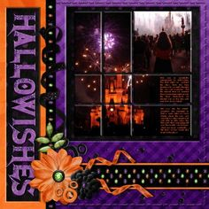 Hallowishes (fireworks) - MouseScrappers.com