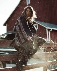 Andreea Diaconu by Benny Horne for Vogue Spain October 2015 4