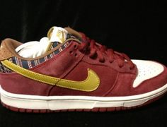 "You stay classy, San Diego, in the Nike SB Dunk Low ""Ron Burgundy"""