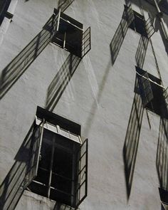 Windows and Shadows, 1952 Fan Ho