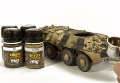 Using the New Set Modern Russian Camo Colors - AMMO by Mig Jimenez Weather Models, Camouflage Colors, New Set, Wood