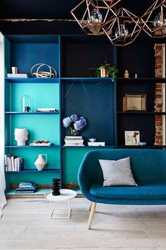 Whoever said blue and green should never be seen had clearly not clicked through our gallery, where these two ocean-inspired hues are combined to great effect. Take a colour…