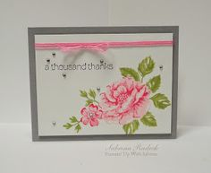 Stampin' Up With Sabrina: A Thousand Thanks