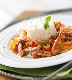 Shortcut Chicken Mole #myplate #chicken #healthy