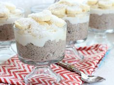 Take banana pudding up a notch with rich and creamy coconut milk, nourishing chia seeds and a probiotic kick.