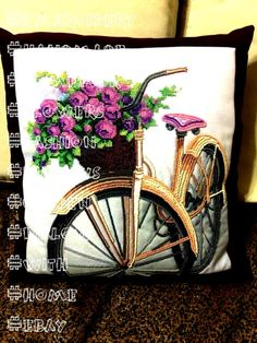 #embroidery #handmade #homedcor #flowers #fashion #pillows #garden #pillow #with #home #ebay #link #bike #pHandmade Pillow Embroidery Bike With Flowers  Handmade Pillow Embroidery Bike With Flowers (ebay link) Handmade Pillow Embroidery Bike With Flowers  Handmade Pillow Embroidery Bike With Flowers (ebay link)   Aqua Backround Vintage Bike Pink Roses & Bird French Document 14x14 16x16 18x18 20x20 22x22 24x24 26  Blossom Earrings Long Drop Earrings With Flowers Floral Earrings Polymer Cla... Pillow Embroidery, Handmade Pillows, Pink Roses, Aqua, Bike, French, Drop Earrings, Floral, Garden