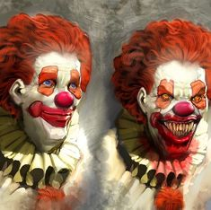 Pennywise illustrated by nebezial on @deviantart