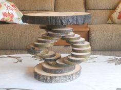 Hey, I found this really awesome Etsy listing at https://www.etsy.com/listing/227709946/log-slice-pedestal-stand-tree-slice-cake