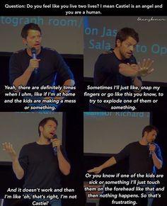 Misha Collins everyone #jibcon7