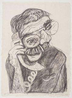 David Hockney 'An Image of Ken', 1985 © David Hockney