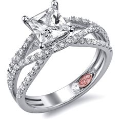 Designer Engagement Rings from DemarcoJewelry.com  Available in White or Yellow Gold 18KT and Platinum. 0.42 RDCapture her grace and endless beauty with this confident yet elegant design. We have also incorporated a unique pink diamond with every single one of our rings, symbolizing that hidden, unspoken emotion and feeling one carries in their heart about their significant other. This is not just another ring, this is a heirloom piece of jewelry.   Demarco Bridal Engagement Ring.