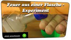 Mahlzeit. In diesem Video zeige ich euch, Feuer aus einer Flasche. Ein interessantes Experiment, welches lustige Geräusche macht und mit Rauch sehr schön aussieht. Beim Nachmachen immer auf das Feuer achten. Wenn´s Fragen gibt, einfach fragen #experiment #flasche #feuer #flamme #rauch #howto #diy #anleitung #erklärung #gas #spiritus #physik #chemie #