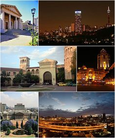 Johannesburg Montage from Wikipedia