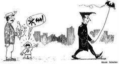 Daddy, I want a bat!