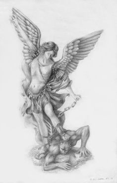 st michael the archangel tattoo designs - Google Search