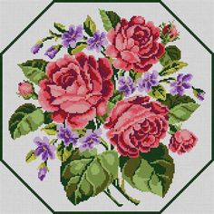 Roses & Violets