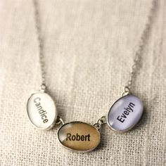 Personalized Charm Necklace with Kids Name 3 small by J4JCharms