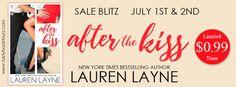 After the Kiss by Lauren Layne #SaleBlitz #Sale #LaurenLayne