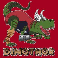 DinoThor by yayzus