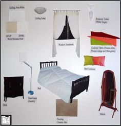 SAMPLE BOARDS: Bedroom design proposal for a girl leaving her teen years.  Contact:  fmcbdesigns@hotmail.com      fmcbdesigns@gmail.com  Instagram: fmcbdesigns        Pinterest: fmcbdesigns Facebook: fmcbdesigns