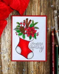 Suzy's Watercolor Prints - 4 ways · Craft Walks Christmas Themes, Christmas Crafts, Christmas Ornaments, Watercolor Cards, Watercolor Print, Diy Anniversary Cards For Boyfriend, Xmas Drawing, Acrylic Painting Flowers, Christmas Doodles
