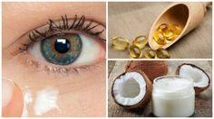 Aby odmłodzić i nawilżyć okolice oczu, doskonale się sprawdza krem z oleju kokosowego. Stanowi on dla skóry źródło cennych składników.