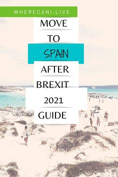 Are you a British citizen and want to move to Spain? Here is how you do it now that Brexit is a reality. #brexit #Spain #moveabroad #expat via @wherecanilive Work Abroad, Study Abroad, Uk Pension, Getting A Passport, British Passport, Work Visa, Living In Europe, Sunny Beach, Beach Town